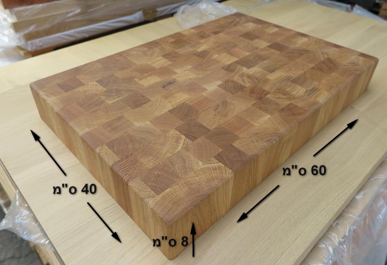קרש חיתוך מעץ לוח קצבים