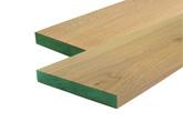מדרגות אלון ירוקות FSC