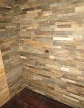 חיפוי קיר מעץ קפאו